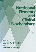 Nutritional Elements and Clinical Biochemistry