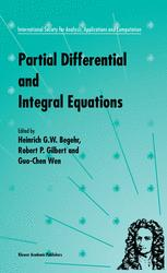 Partial Differential and Integral Equations