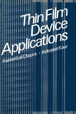 Thin Film Device Applications