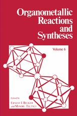 Organometallic Reactions and Syntheses