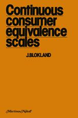Continuous Consumer Equivalence Scales