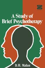 A Study of Brief Psychotherapy