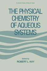 The Physical Chemistry of Aqueous System