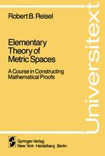 Elementary Theory of Metric Spaces