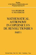 Mathematical Astronomy in Copernicus's De Revolutionibus