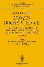 Apollonius: Conics Books V to VII