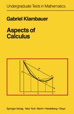 Aspects of Calculus