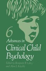 Advances in Clinical Child Psychology