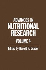 Advances in Nutritional Research