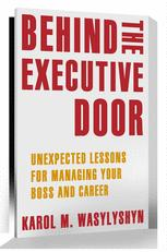 Behind the Executive Door