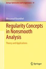 Regularity Concepts in Nonsmooth Analysis
