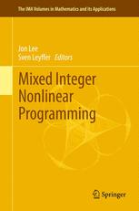 Mixed Integer Nonlinear Programming