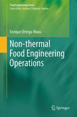 Non-thermal Food Engineering Operations