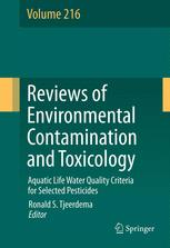 Aquatic Life Water Quality Criteria for Selected Pesticides