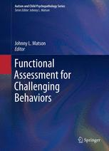 Functional Assessment for Challenging Behaviors
