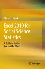 Excel 2010 for Social Science Statistics