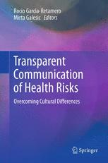 Transparent Communication of Health Risks