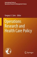 Operations Research and Health Care Policy