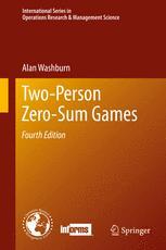 Two-Person Zero-Sum Games