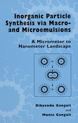 Inorganic Particle Synthesis via Macro and Microemulsions