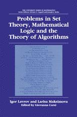 Problems in Set Theory, Mathematical Logic and the Theory of Algorithms