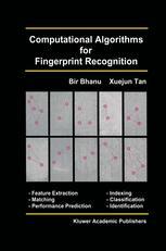 Computational Algorithms for Fingerprint Recognition