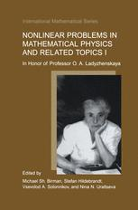 Nonlinear Problems in Mathematical Physics and Related Topics I