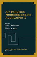Air Pollution Modeling and Its Application X