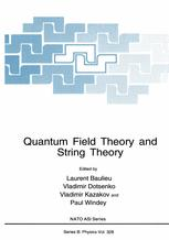 Quantum Field Theory and String Theory