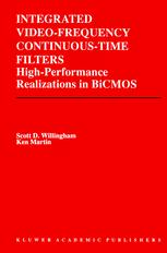 Integrated Video-Frequency Continuous-Time Filters