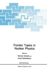 Frontier Topics in Nuclear Physics