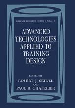 Advanced Technologies Applied to Training Design