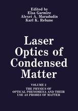 Laser Optics of Condensed Matter