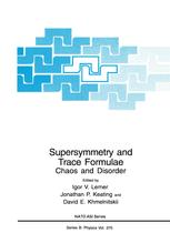 Supersymmetry and Trace Formulae