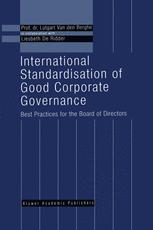 International Standardisation of Good Corporate Governance