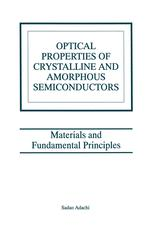 Optical Properties of Crystalline and Amorphous Semiconductors