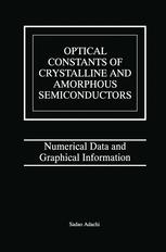 Optical Constants of Crystalline and Amorphous Semiconductors