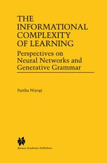The Informational Complexity of Learning