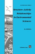 Structure—Activity Relationships in Environmental Sciences