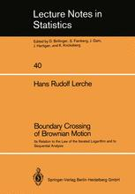 Boundary Crossing of Brownian Motion