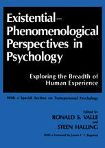 Existential-Phenomenological Perspectives in Psychology