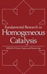 Fundamental Research in Homogeneous Catalysis