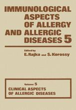 Immunological Aspects of Allergy and Allergic Diseases