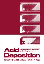 Acid Deposition: Environmental, Economic, and Policy Issues