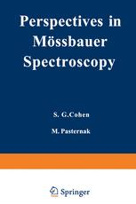 Perspectives in Mössbauer Spectroscopy