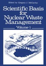 Scientific Basis for Nuclear Waste Management
