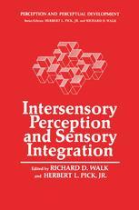 Intersensory Perception and Sensory Integration