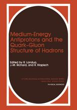 Medium-Energy Antiprotons and the Quark—Gluon Structure of Hadrons