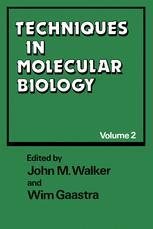 Techniques in Molecular Biology