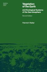 Vegetation of the Earth and Ecological Systems of the Geobiosphere